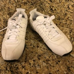 Kswiss white shoes